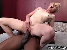 Black Dude Bangs Sweet Blond Slutie 3