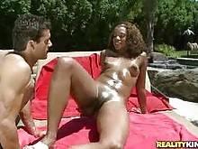 Sydnee Capri - Poolside playmate