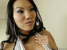 Black cock fucking asian slut from EvilAngel HD