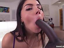 Valentina Nappi vs a Monster Cock
