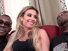 Hot Alana Luv Is A Black Cock Slut 1